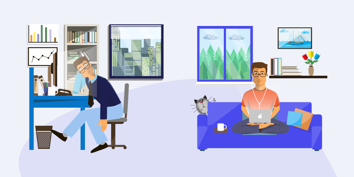 The Advantages of Converting Your Business Team from In-Office to Fully Remote