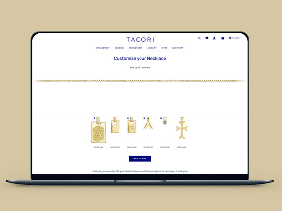 Aspired and Branded Online collaborated to deliver solutions that help Branded Online's clients like Tacori